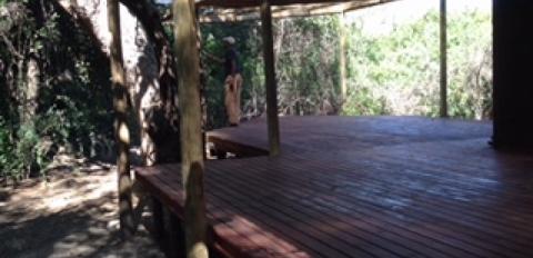 Front & tent deck
