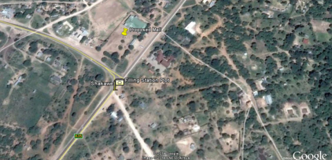 Site location on google map